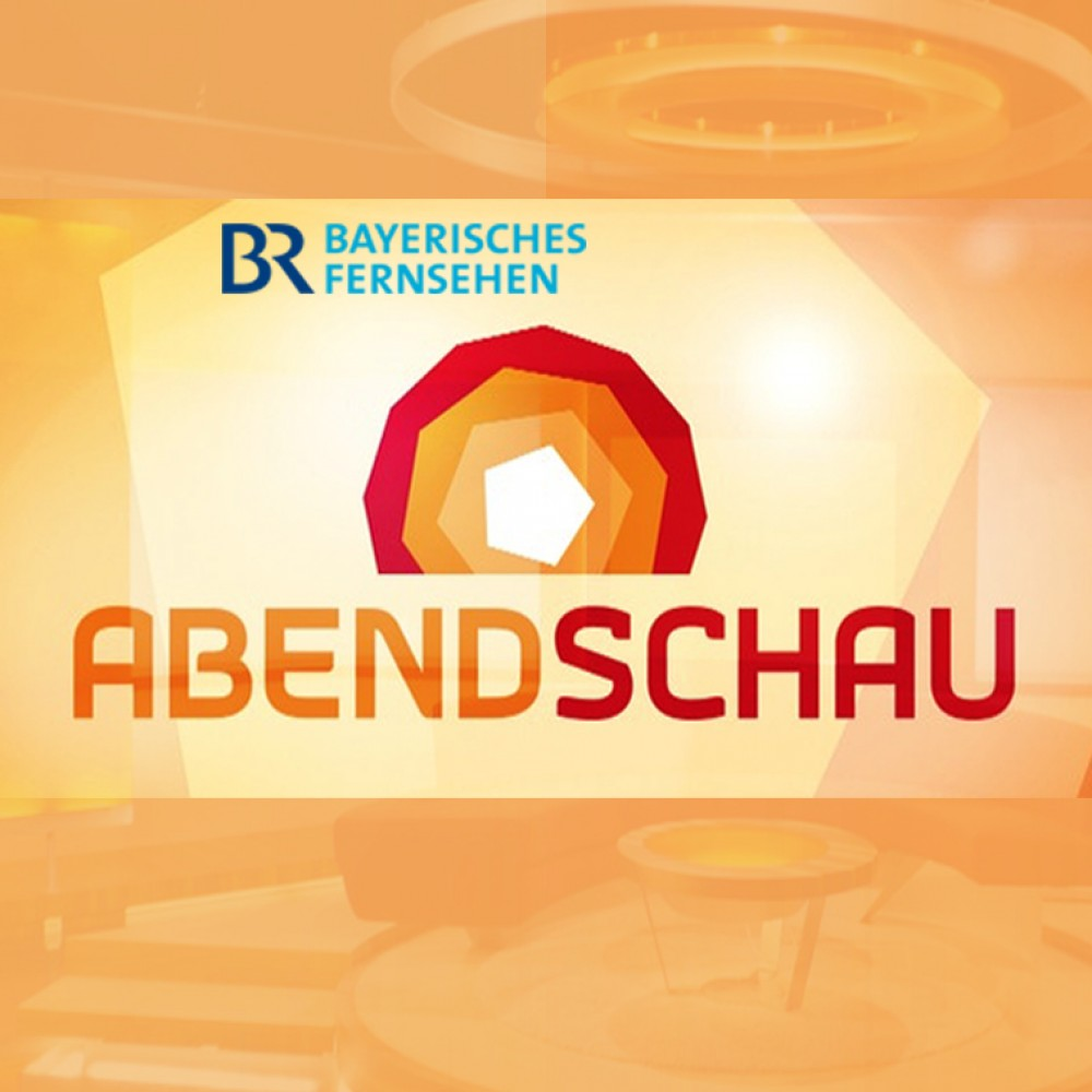 LIVE in der ABENDSCHAU